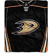 Northwest Anaheim Ducks Jersey Raschel Throw