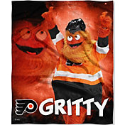 Northwest Philadelphia Flyers Gritty Mascot Silk Touch Blanket
