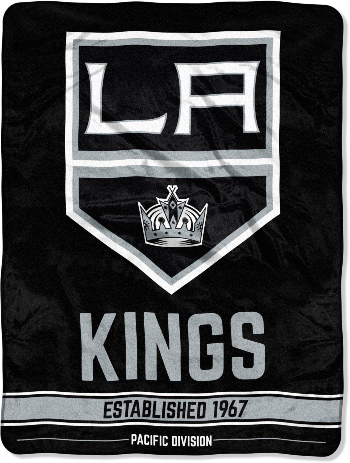 """Northwest Los Angeles Kings """"Halftone"""" Micro Raschel Throw"""