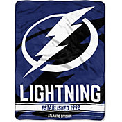 Northwest Tampa Bay Lightning Micro Raschel Throw