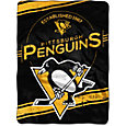Northwest Pittsburgh Penguins Jersey Raschel Throw