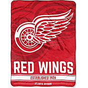 "Northwest Detroit Red Wings ""Halftone"" Micro Raschel Throw"