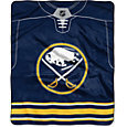 Northwest Buffalo Sabres Jersey Raschel Throw
