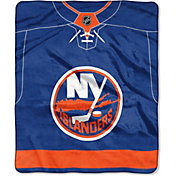 Northwest New York Islanders Jersey Raschel Throw