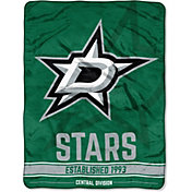 "Northwest Dallas Stars ""Halftone"" Micro Raschel Throw"