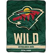 "Northwest Minnesota Wild ""Halftone"" Micro Raschel Throw"