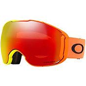 Team Oakley Adult Airbrake XL Harmony Fade Snow Goggles with Bonus Lens