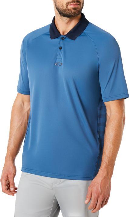 Oakley Men's Back Stripe Golf Polo