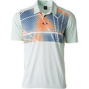 Oakley Men's Geometric Golf Polo