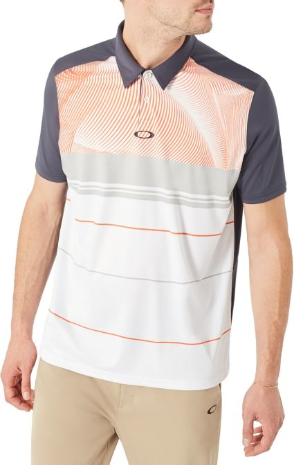 Oakley Men's Aero Motion Block Golf Polo