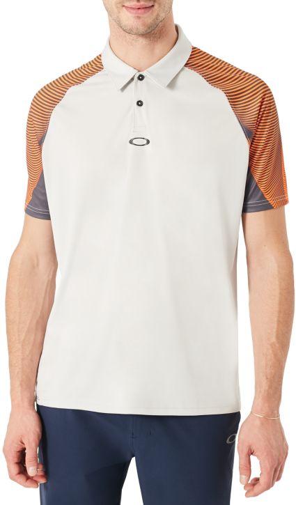 Oakley Men's Aero Motion Sleeve Golf Polo