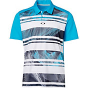 Oakley Men's Aero Stripe Mashie Golf Polo