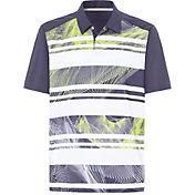 Oakley Men's Aero Stripe Mashie Golf Polo