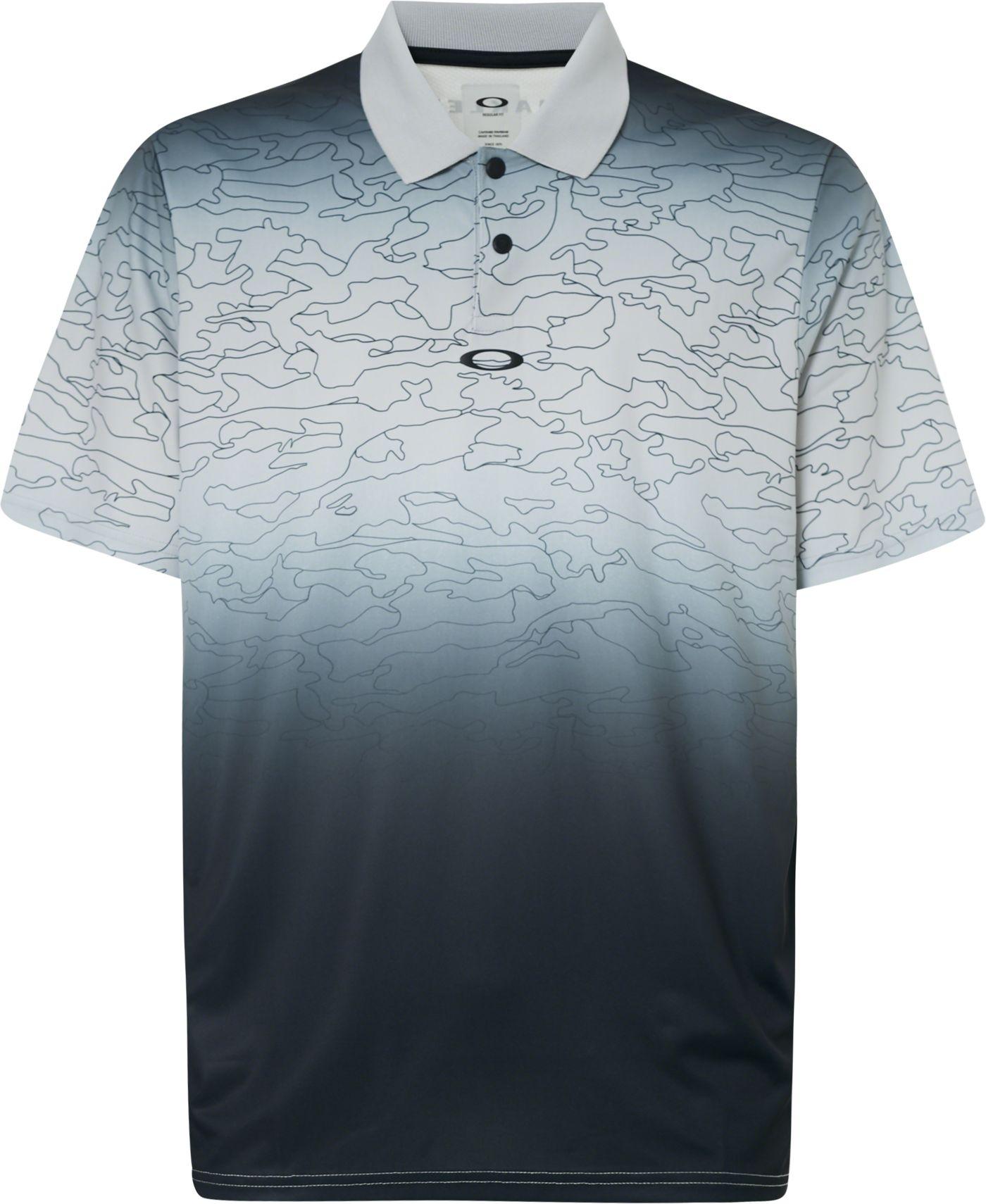 Oakley Men's Sublimated Camo Golf Polo
