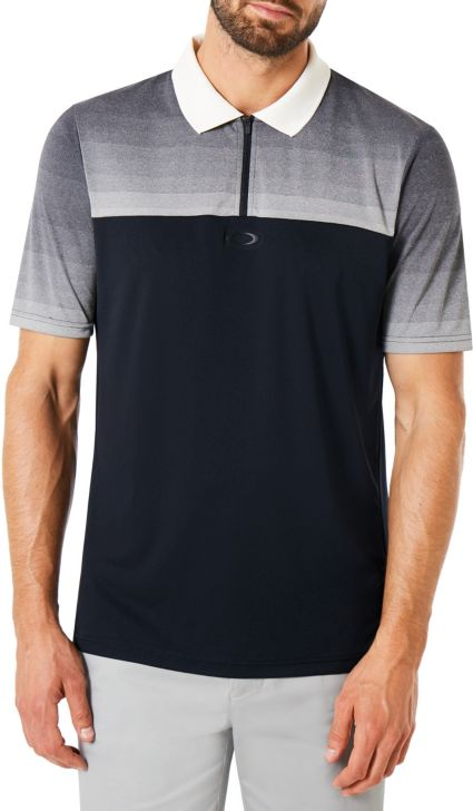 Oakley Men's Sublimated Jacquard Short Sleeve Golf Polo
