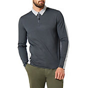 Oakley Men's Striped Long Sleeve Golf Polo