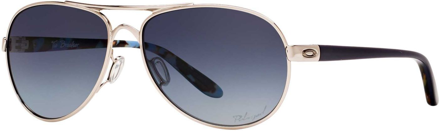 Oakley Women's Tie Breaker Polarized Sunglasses