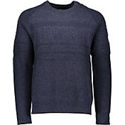 Obermeyer Men's Textured Crew Neck Sweater