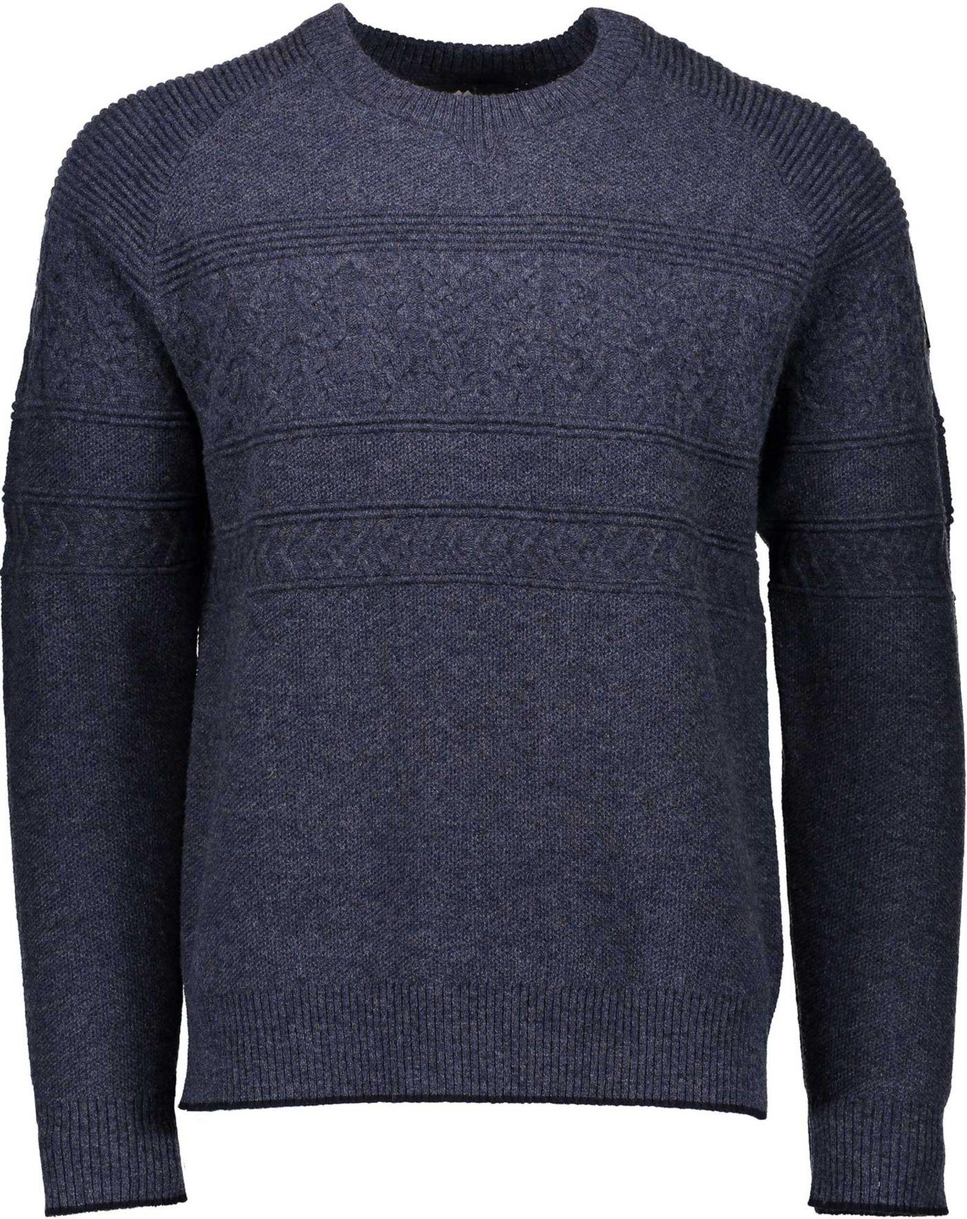 Obermeyer Men's Textured Crew Neck Sweater