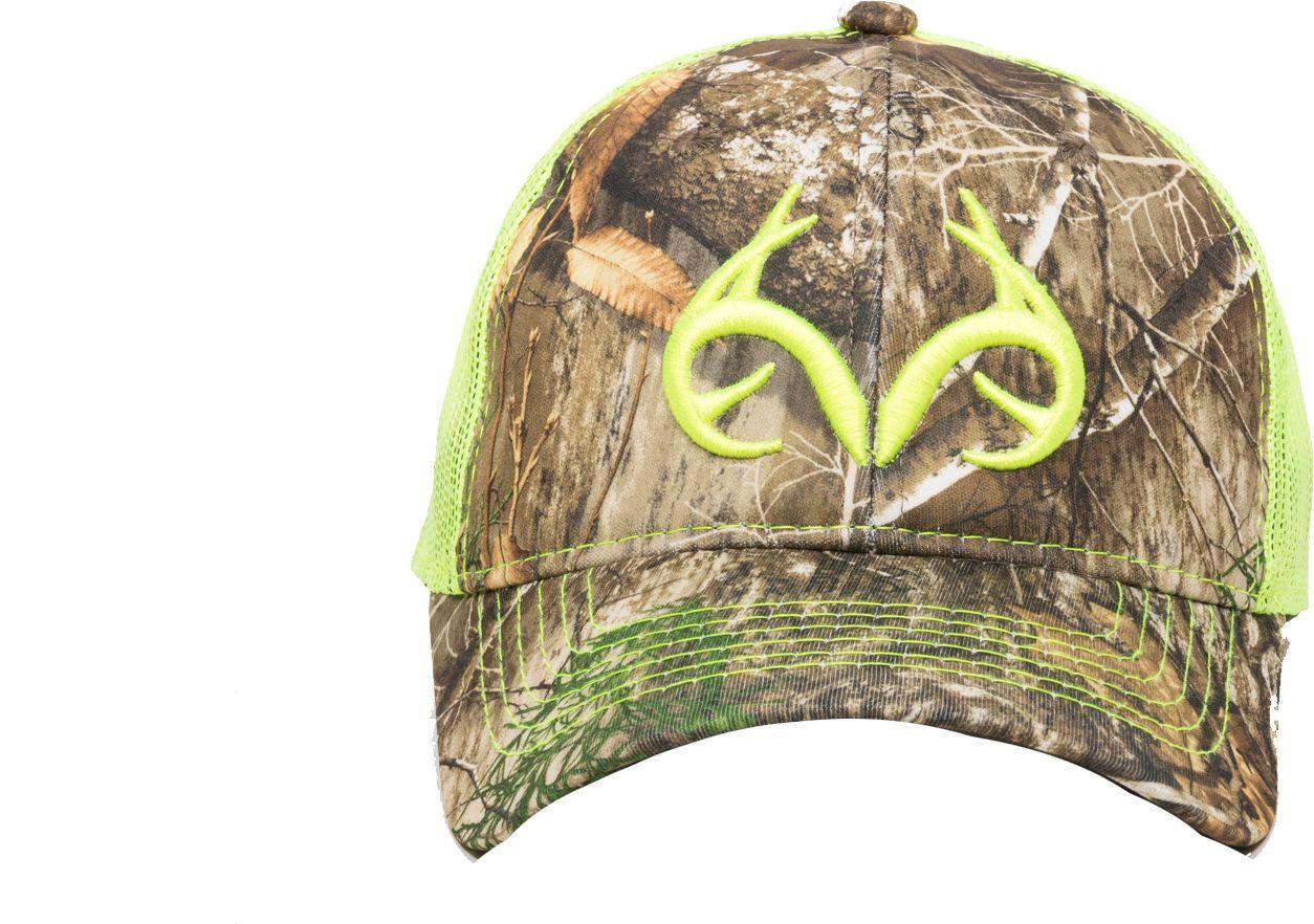 Outdoor Cap Men's Realtree EDGE Neon Logo Hat, Multi thumbnail