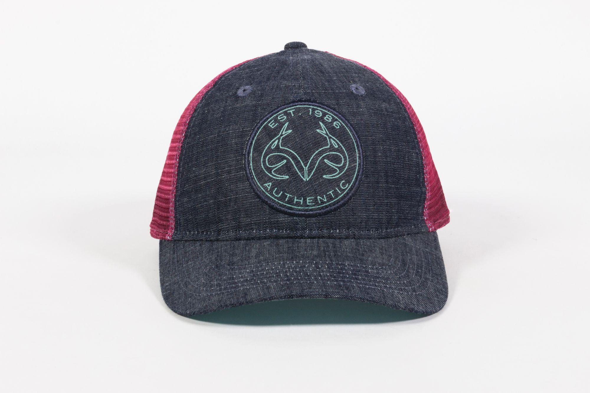 Outdoor Cap Women's Denim RealTree Hat, Blue