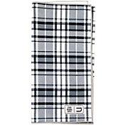 Uther Supply Platinum Plaid Tour Towel