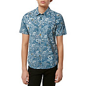 O'Neill Boys' Ditz Guy Woven Short Sleeve Shirt