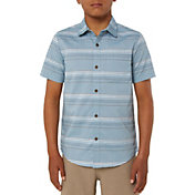 O'Neill Boys' Dexter Short Sleeve Button Up Shirt