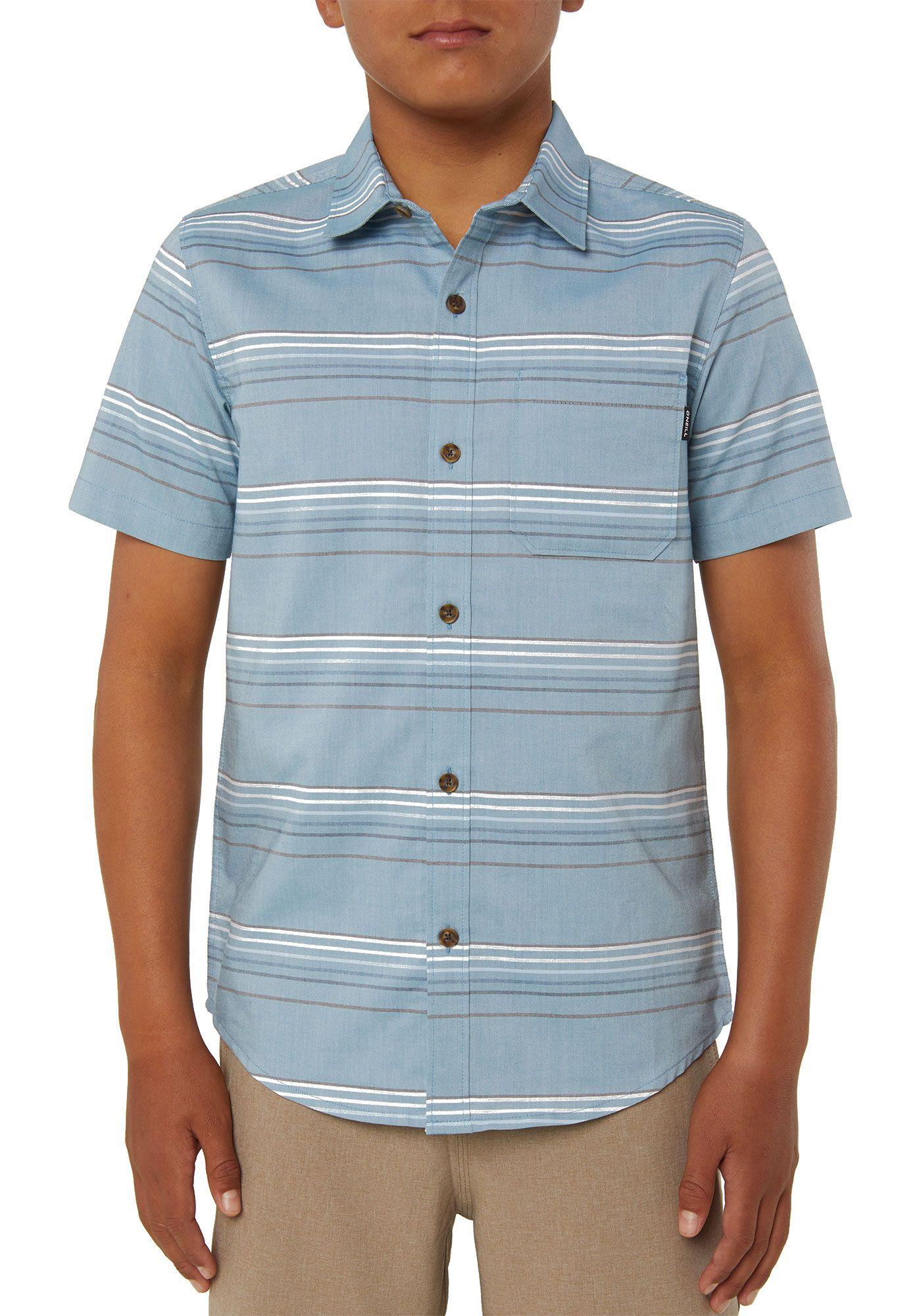 O'Neill Boys' Dexter Short Sleeve Button Up Shirt