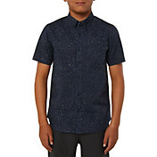 O'Neill Boys' Galaxsea Short Sleeve Button Up Shirt