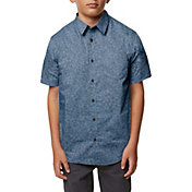 O'Neill Boys' Structure Woven Short Sleeve Shirt