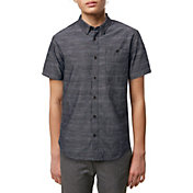 O'Neill Boys' Woods Woven Short Sleeve Shirt