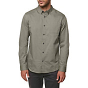O'Neill Men's Banks Woven Long Sleeve Shirt