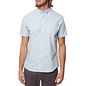 O'Neill Men's Banks Woven Short Sleeve Shirt