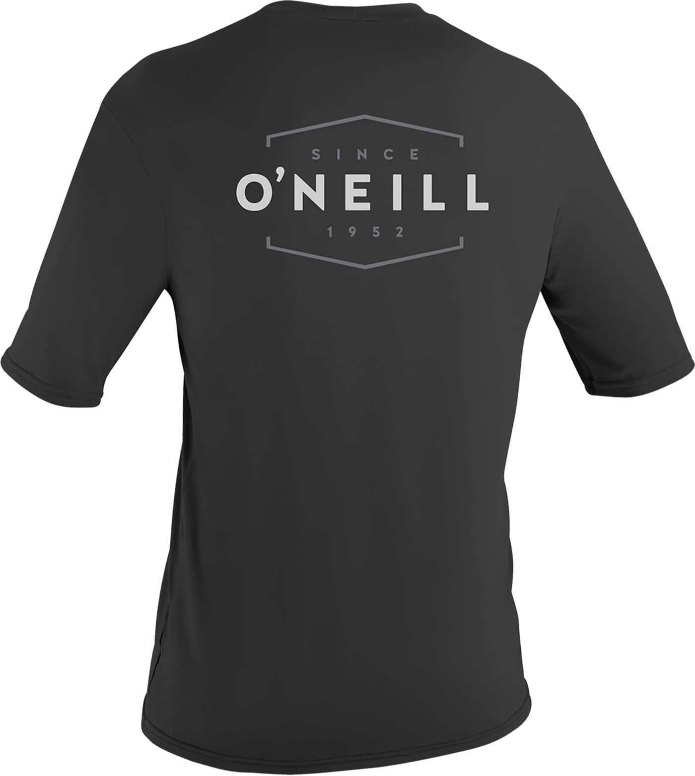 O'Neill Men's Basic Skins Dug Graphic Short Sleeve Rash Guard