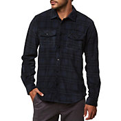 O'Neill Men's Glacier Ridge Plaid Long Sleeve Shirt
