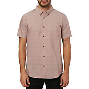 O'Neill Men's Gridlock Woven Short Sleeve Shirt