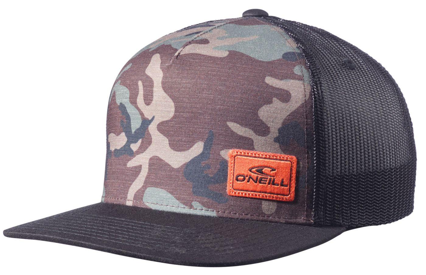 O'Neill Men's Hyperfreak Camo Trucker Hat