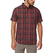 O'Neill Men's Anchored Woven Short Sleeve Shirt