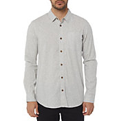 O'Neill Men's Phases Printed Woven Long Sleeve Shirt
