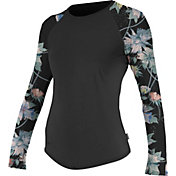 O'Neill Women's Sleeve Print Long Sleeve Rash Guard