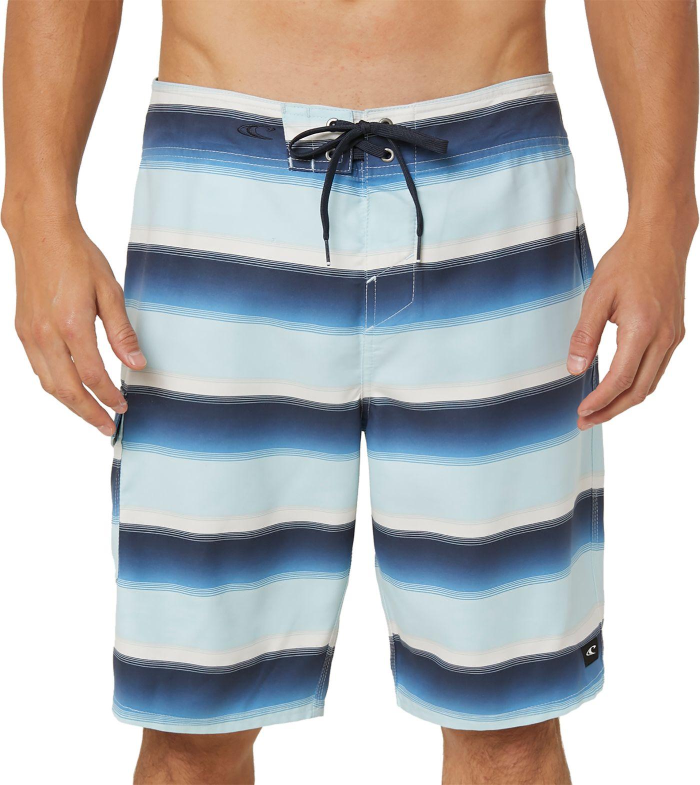 O'Neill Men's Santa Cruz Striped Board Shorts