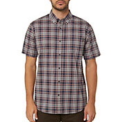 O'Neill Men's Timebomb Short Sleeve Button Up Shirt