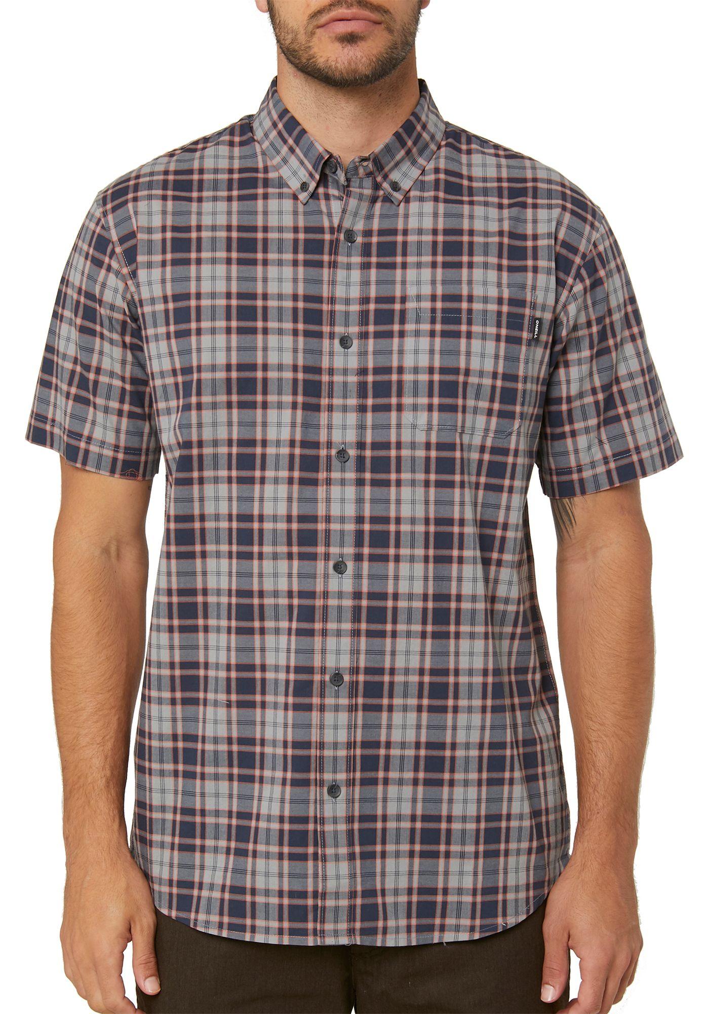 O'Neill Men's Timebomb Short Sleeve Button Up Shirt