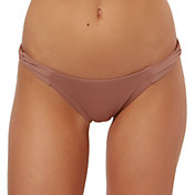 O'Neill Women's Salt Water Loop Side Bikini Bottoms