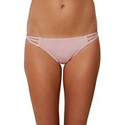 O'Neill Women's Salt Water Solids Multi Side Strap Bikini Bottoms