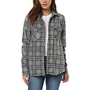 O'Neill Women's Zuma Plaid Long Sleeve Shirt