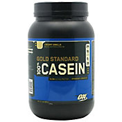 Optimum Nutrition Gold Standard 100% Casein Protein Powder Creamy Vanilla 26 Servings