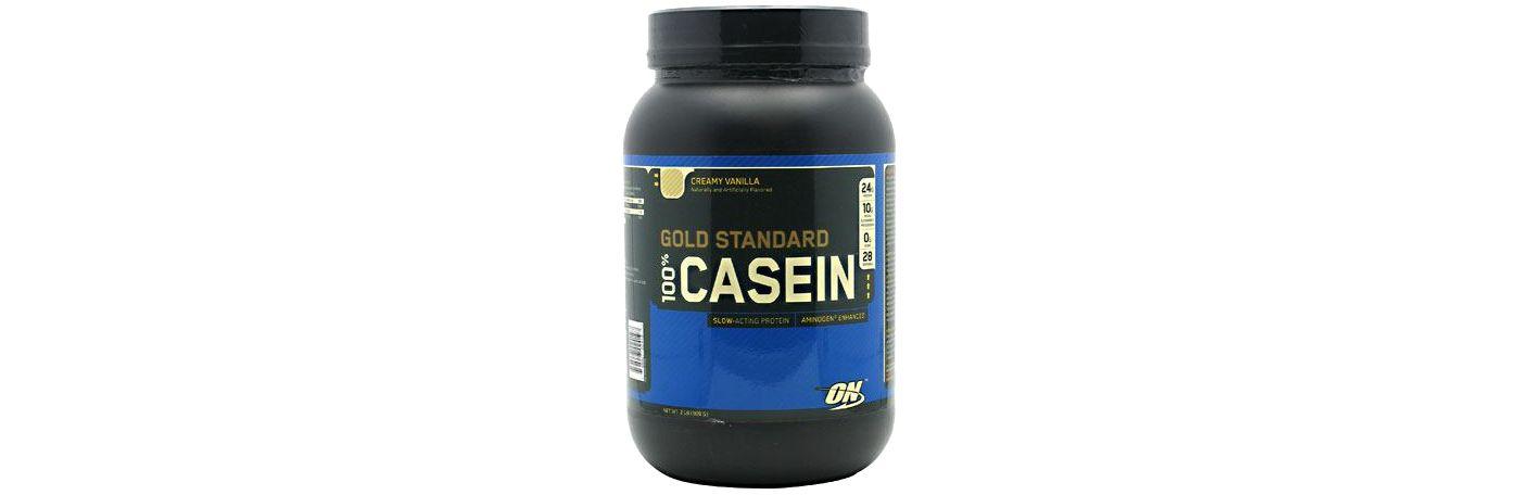 Optimum Nutrition Gold Standard 100% Casein Protein Powder Creamy Vanilla 26 Servings