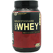 Optimum Nutrition Gold Standard 100% Whey Protein Powder Cookies & Cream